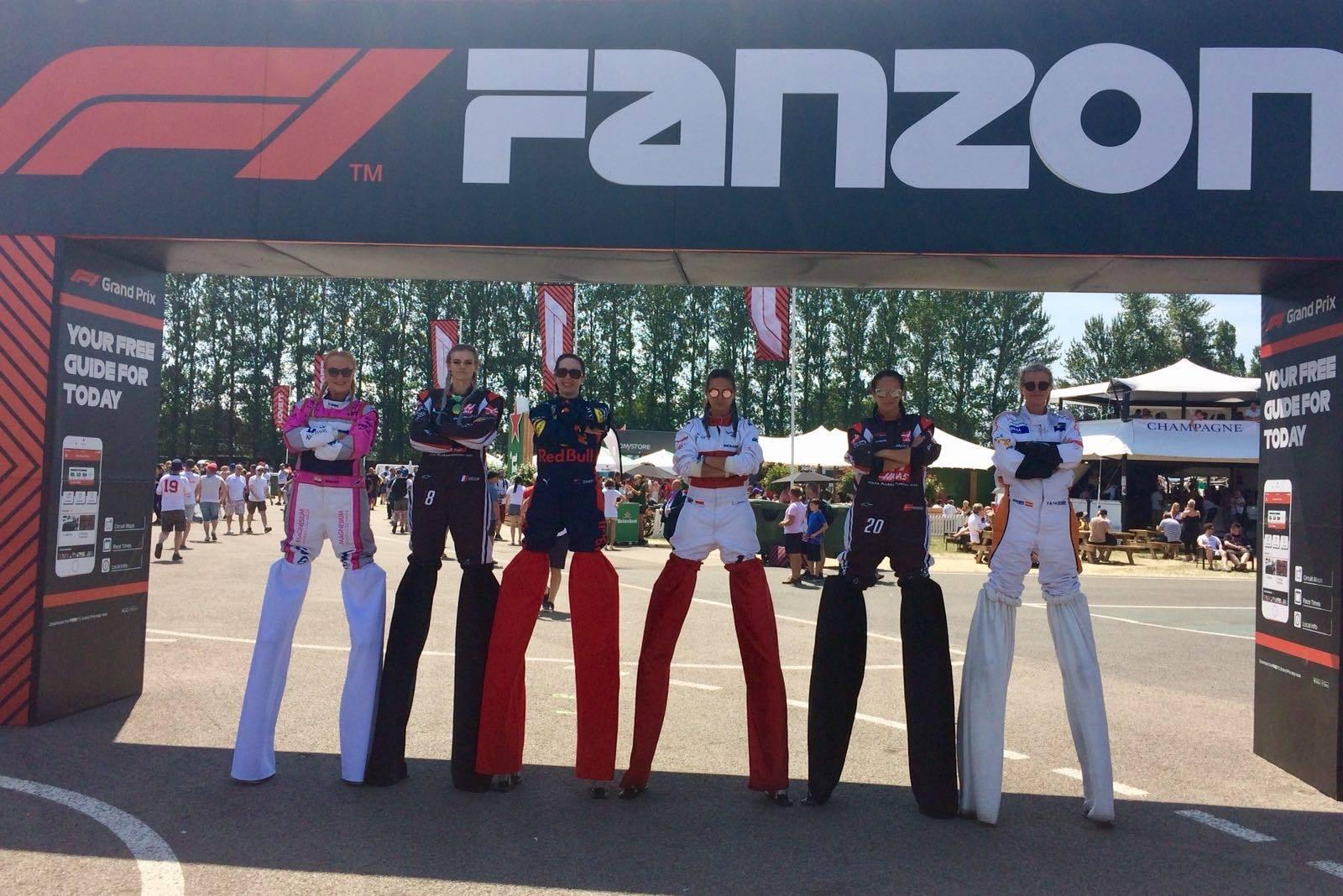 promotional stilt walkers