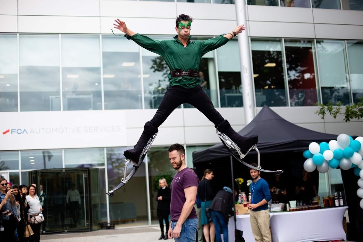 Acrobatic Garden Elf